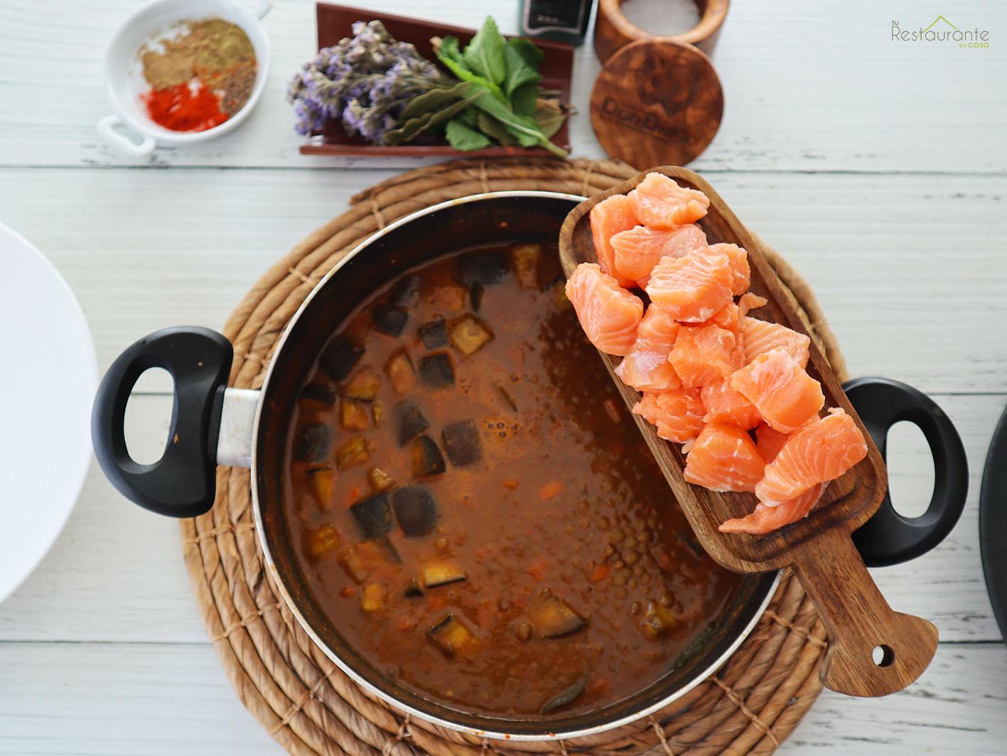 salmon - tu restaurante en casaen casa