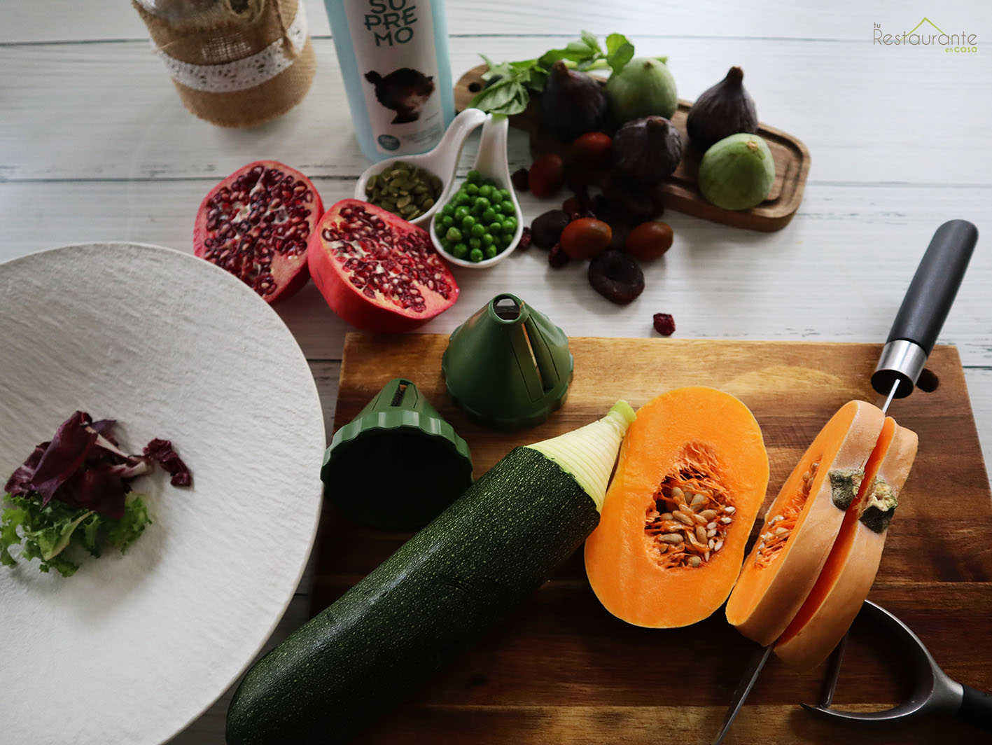 ingredientes - tu restaurante en casa