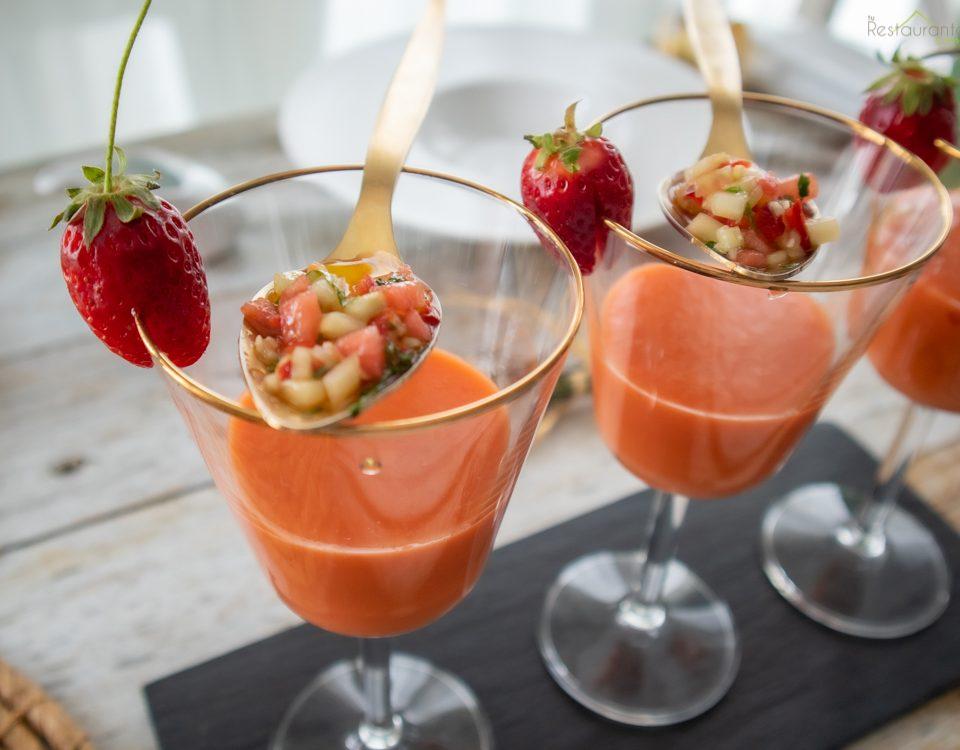 gazpacho de frutas - tu restaurante en casa