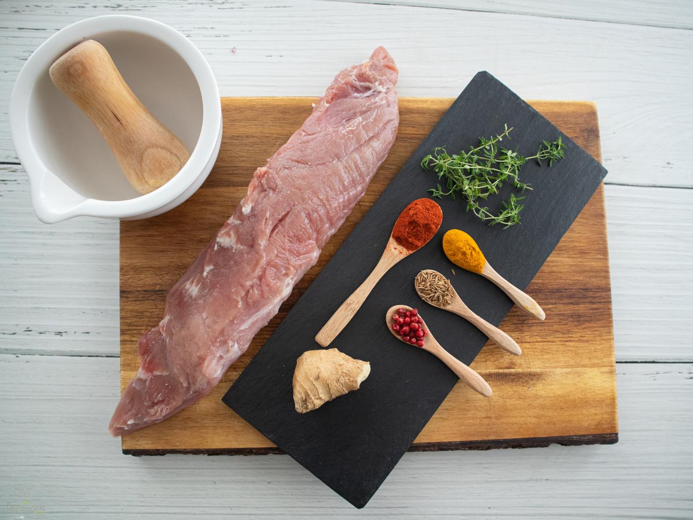 ingredientes solomillo en adobo - tu restaurante en casa