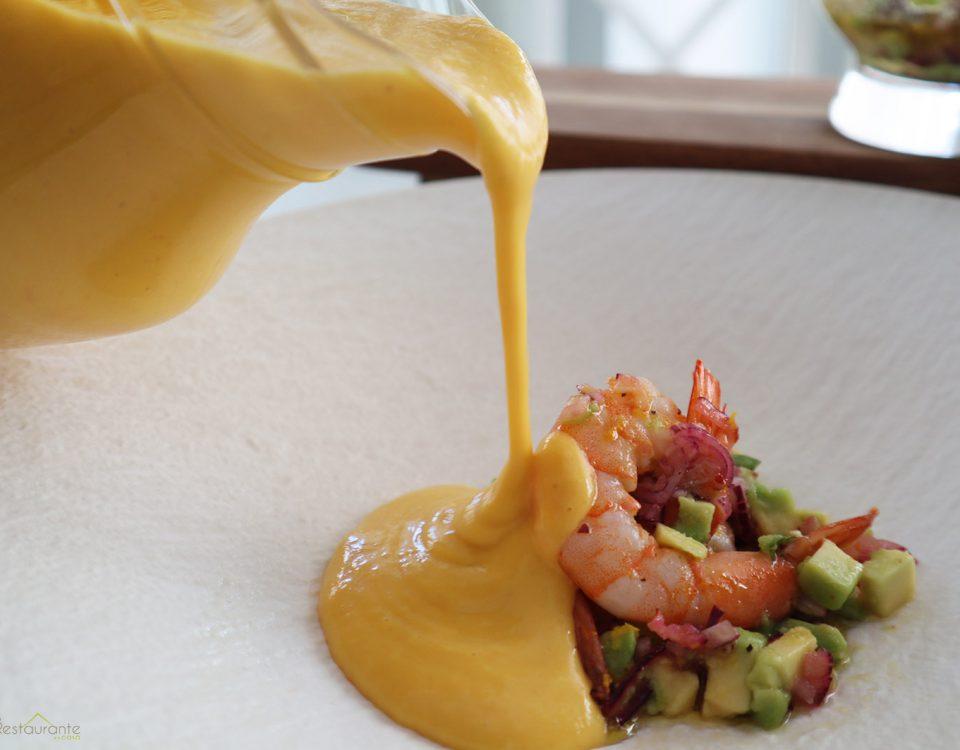 salmorejo de mango - tu restaurante en casa